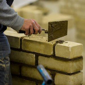 Now Civil brick laying